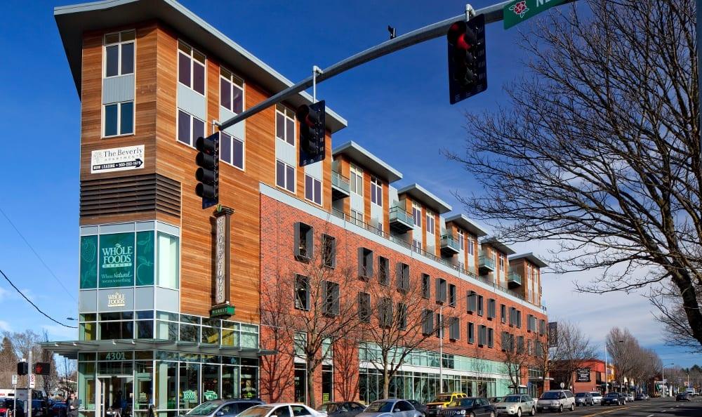 Exterior Of Apartment In NE Portland