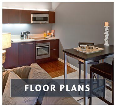 View the different floor plans for the apartments for rent in Portland