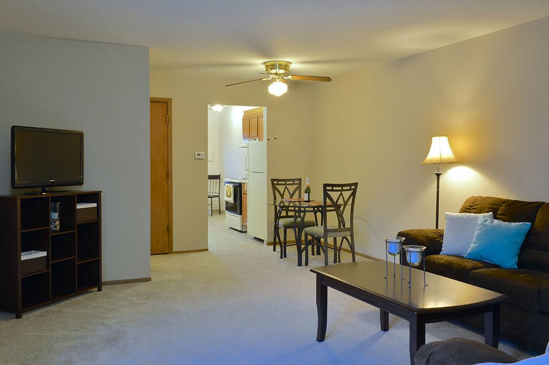 Spacious floorplans at American Colony Apartments, in Greenfield , WI