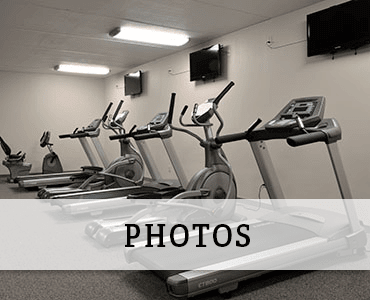 Fitness center at Greenfield apartments for rent.