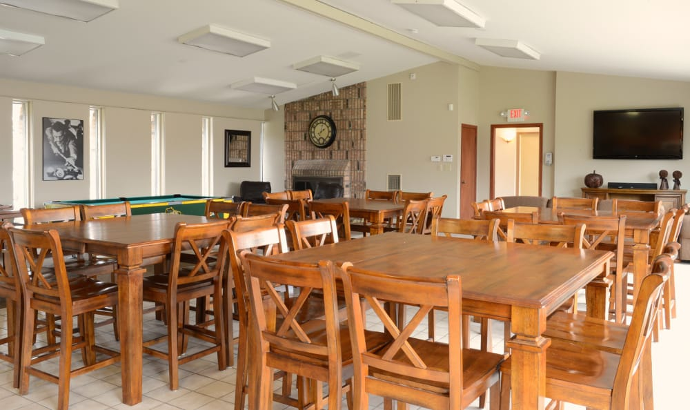 Dine in fashion at Briarwick Apartments in Greenfield, WI