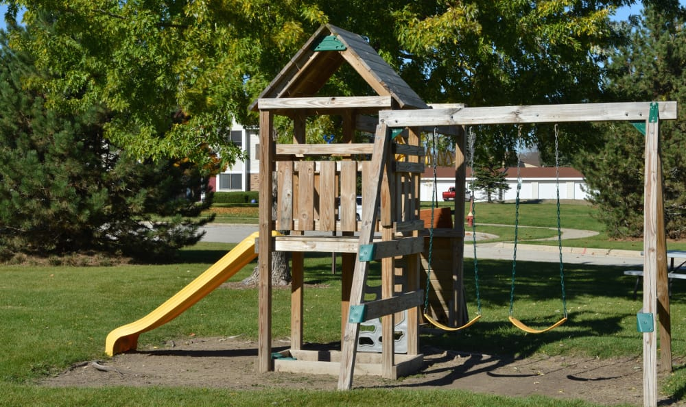 Playground at Ryan Green Apartments in Franklin, WI