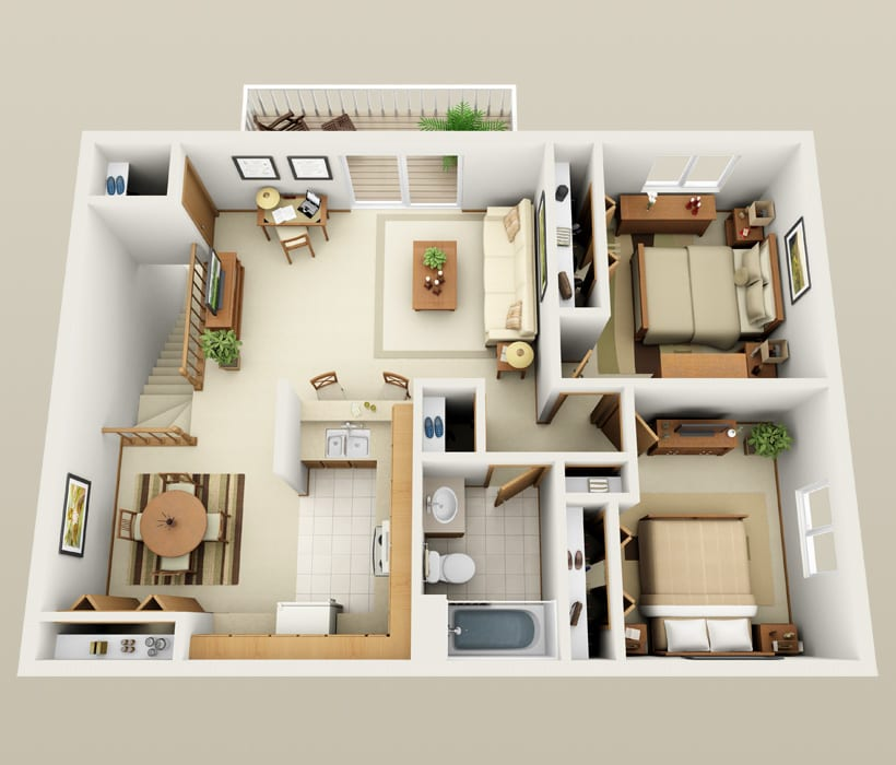 Affordable 1 & 2 Bedroom Apartments In St. Francis, WI