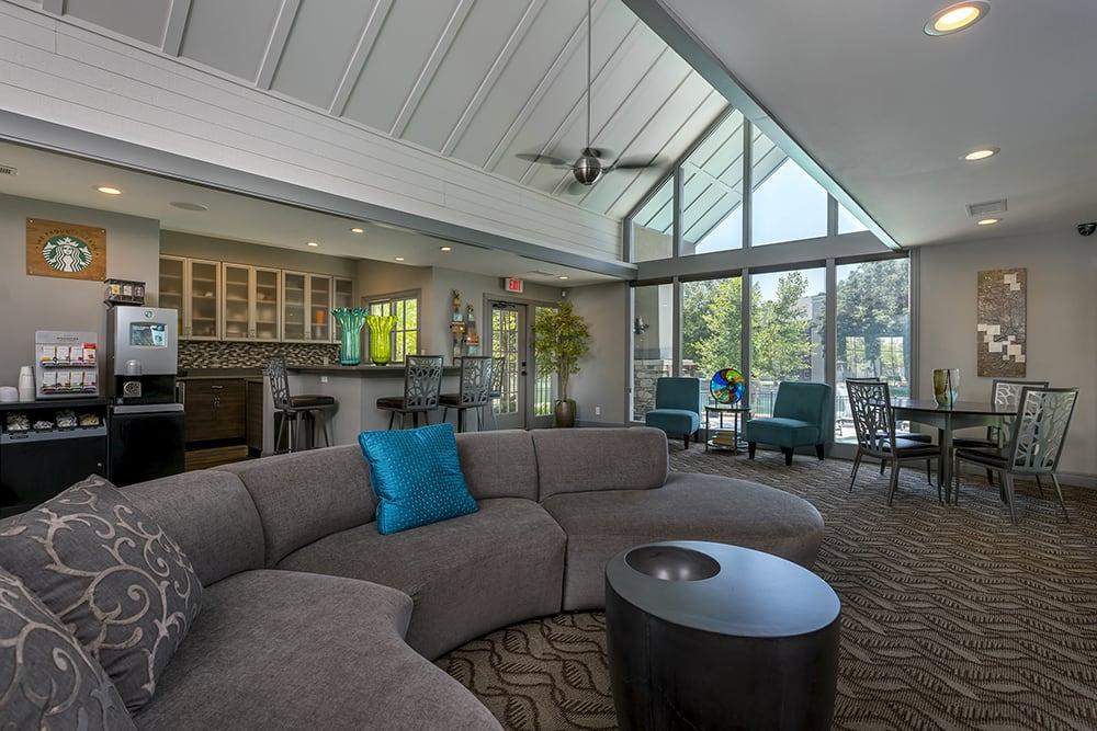 Luxurious amenities abound at Northland Passage in Kansas City.