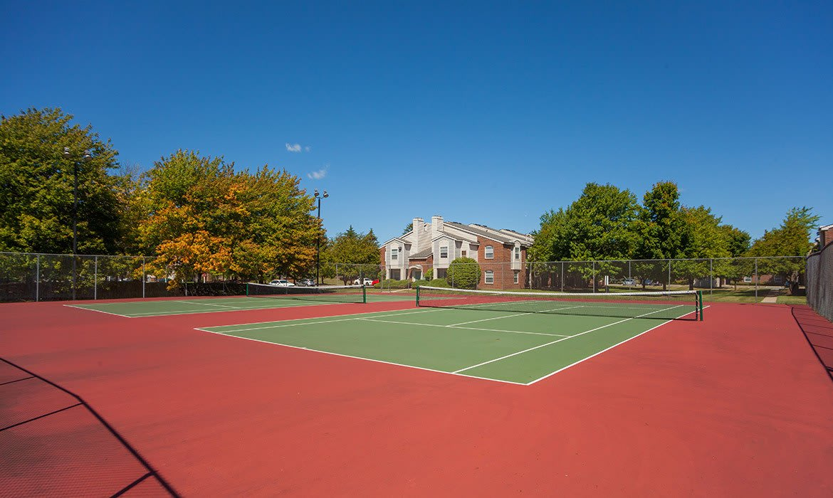 Challenge your new friends and neighbors to a rousing game of tennis at Fairlane Meadow Apartments in Dearborn, MI.