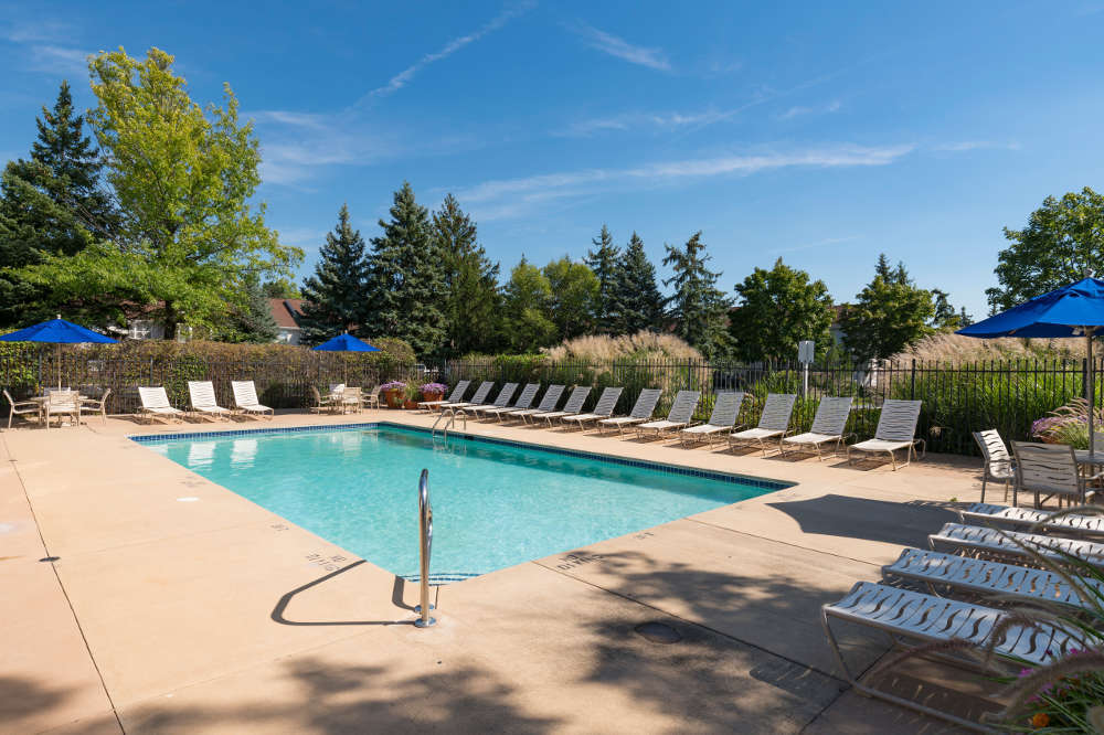 Enjoy our pool at Clinton Place Apartments in Clinton Township, MI