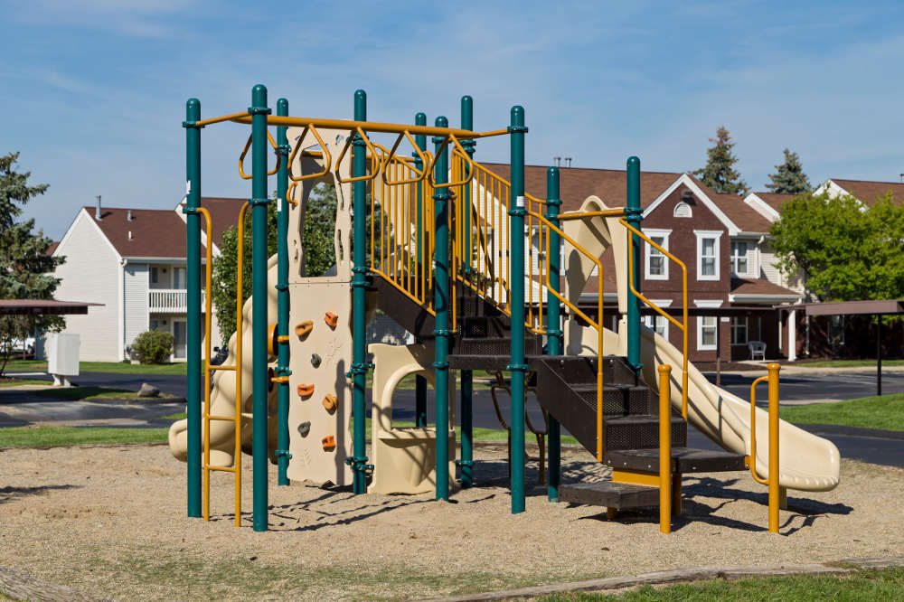 Playground at Clinton Place Apartments in Clinton Township, MI