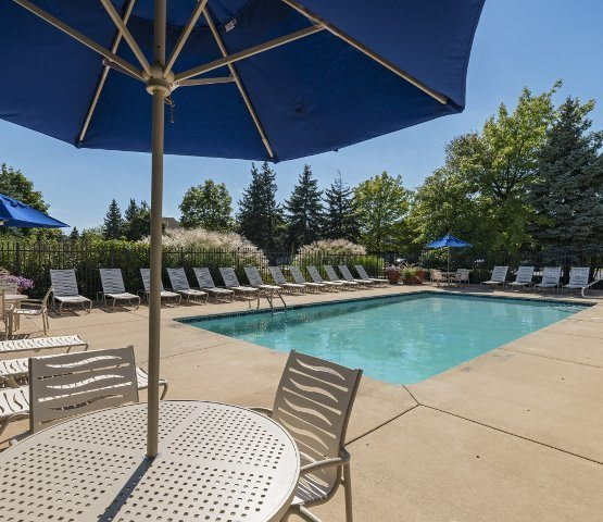 Luxurious amenities abound at Clinton Place Apartments in Clinton Township.