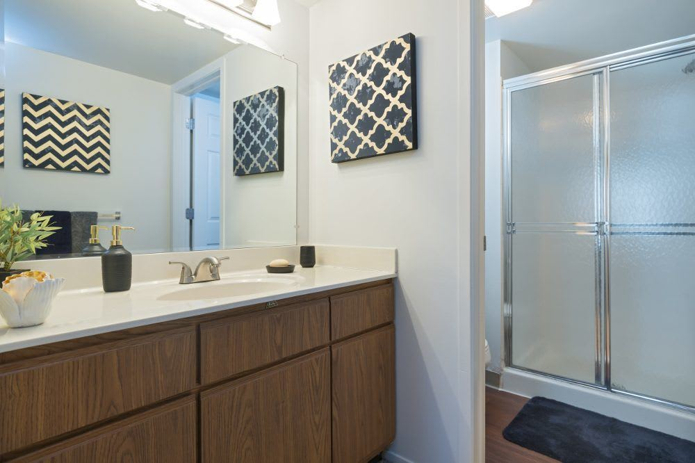 Bathroom at Diamond Forest Apartments