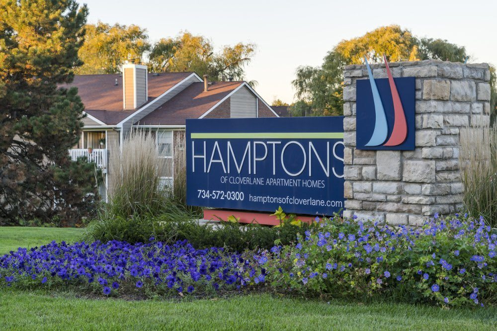 Welcome to Hamptons of Cloverlane Apartments in Ypsilanti, MI
