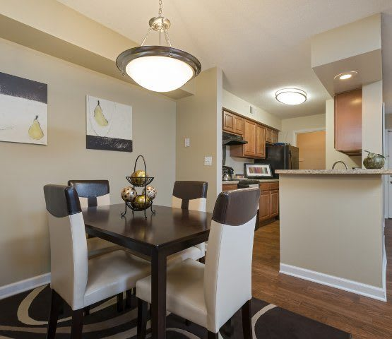 Luxurious amenities abound at Hamptons of Cloverlane Apartments in Ypsilanti.