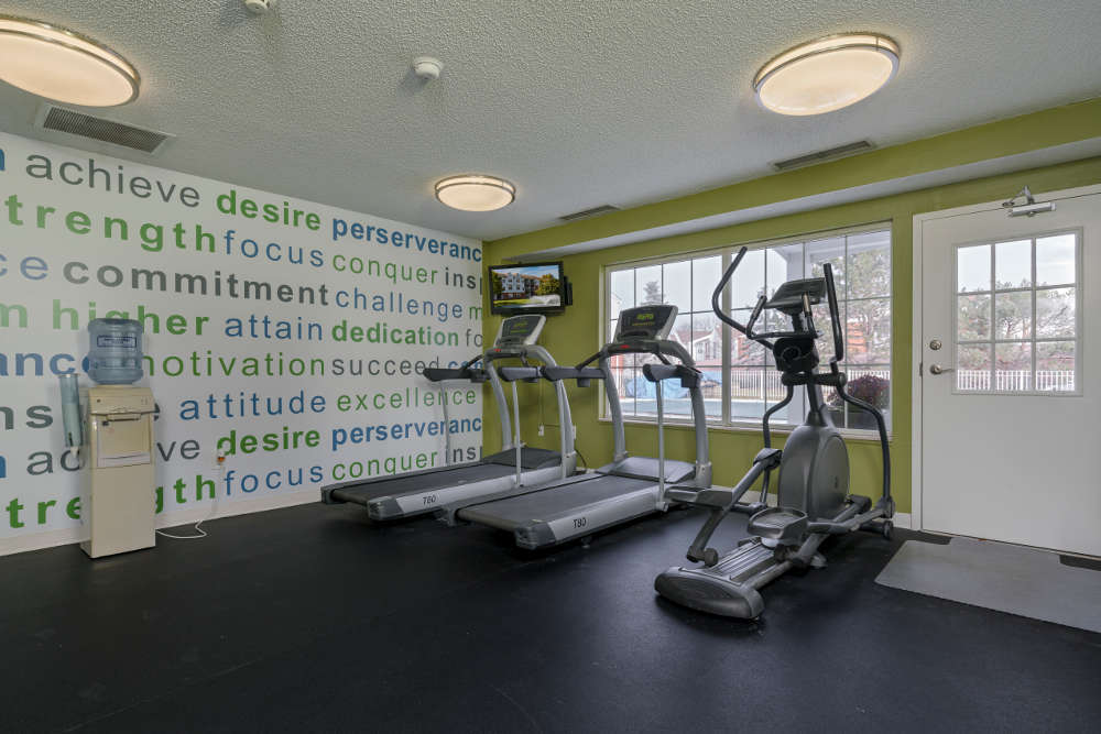 Fitness Center  at Ponds at Georgetown Apartments in Ann Arbor, MI