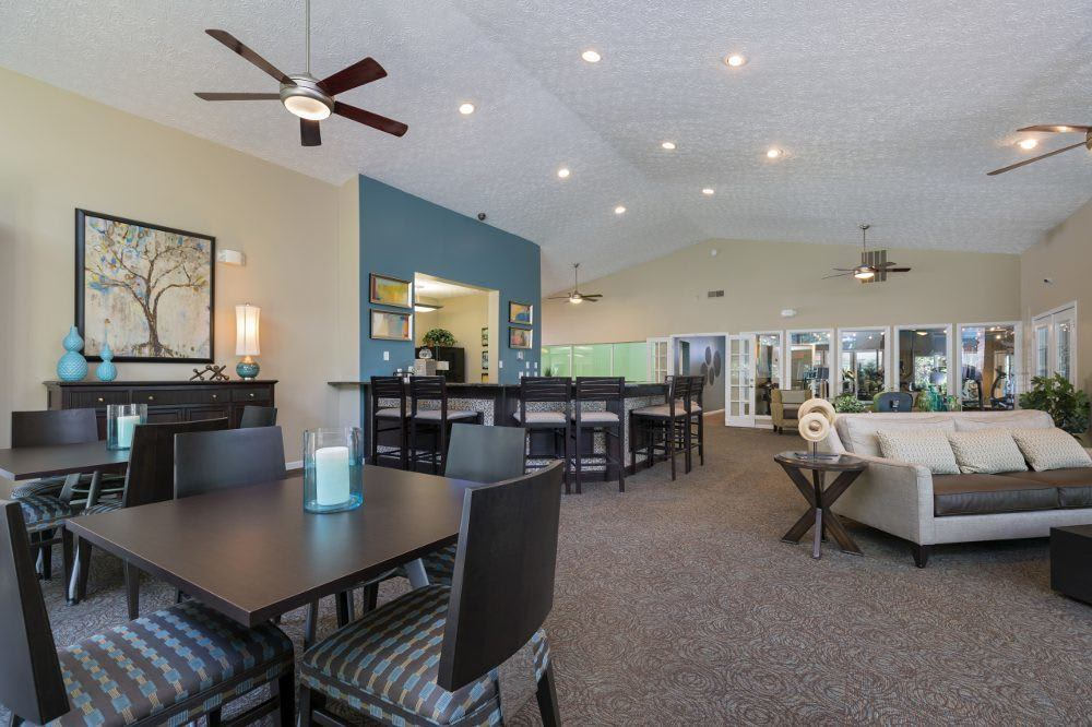 Superb clubhouse at Sturbridge Square Apartments