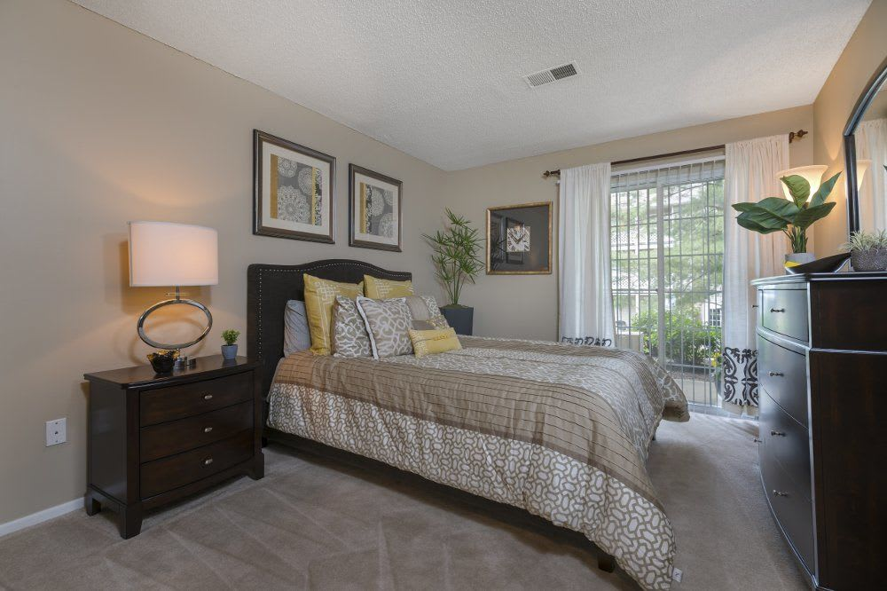 Bedroom at Sturbridge Square Apartments
