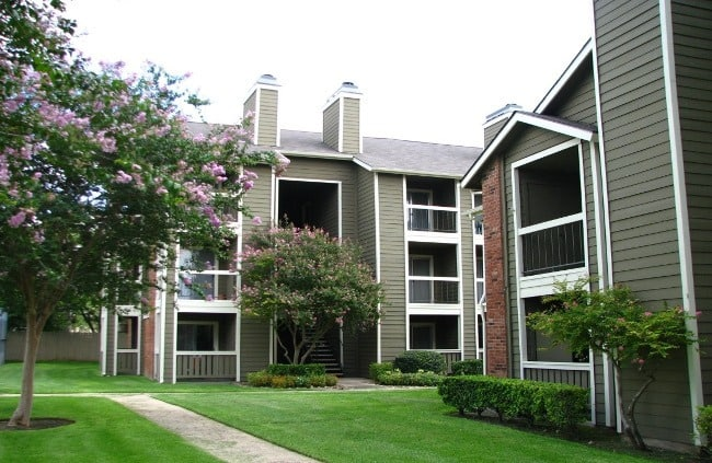 Exterior view of Westchase Apartments