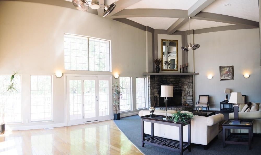 The apartments for rent in Fairfield, OH feature a beautiful community clubhouse