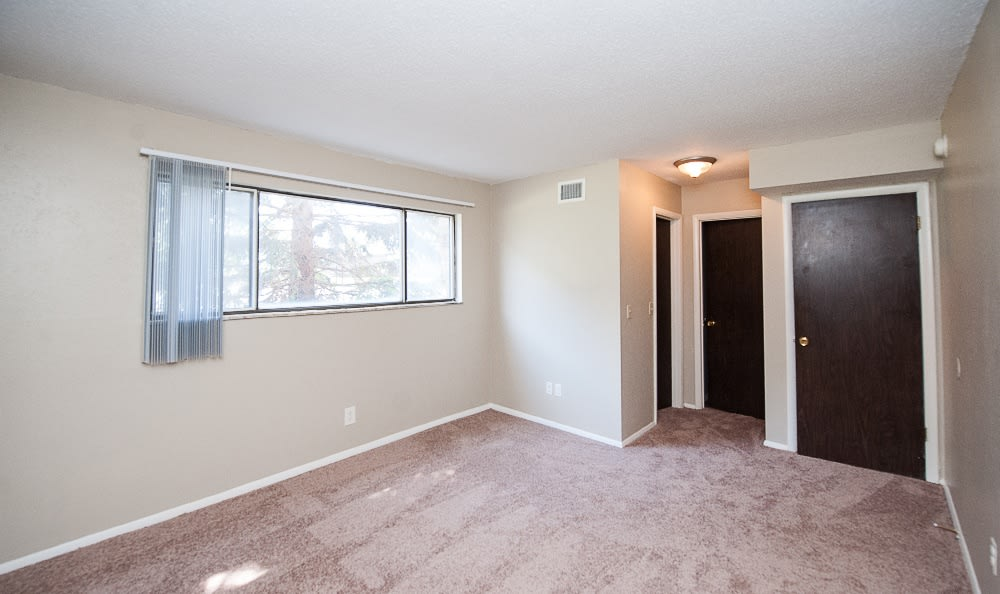 Check out the spacious bedrooms at Hawthorne Hills Apartments
