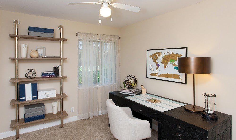 Studio room at Greenpointe Apartment Homes in Santa Clara, CA