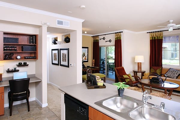 The Lodge at Napa Junction is a convenient place to live in American Canyon, California