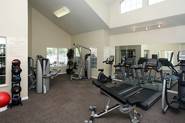 Fitness center at The Villages in Santa Rosa, CA