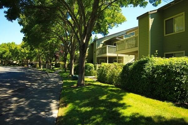 Apartments' exterior at The Villages in Santa Rosa, CA
