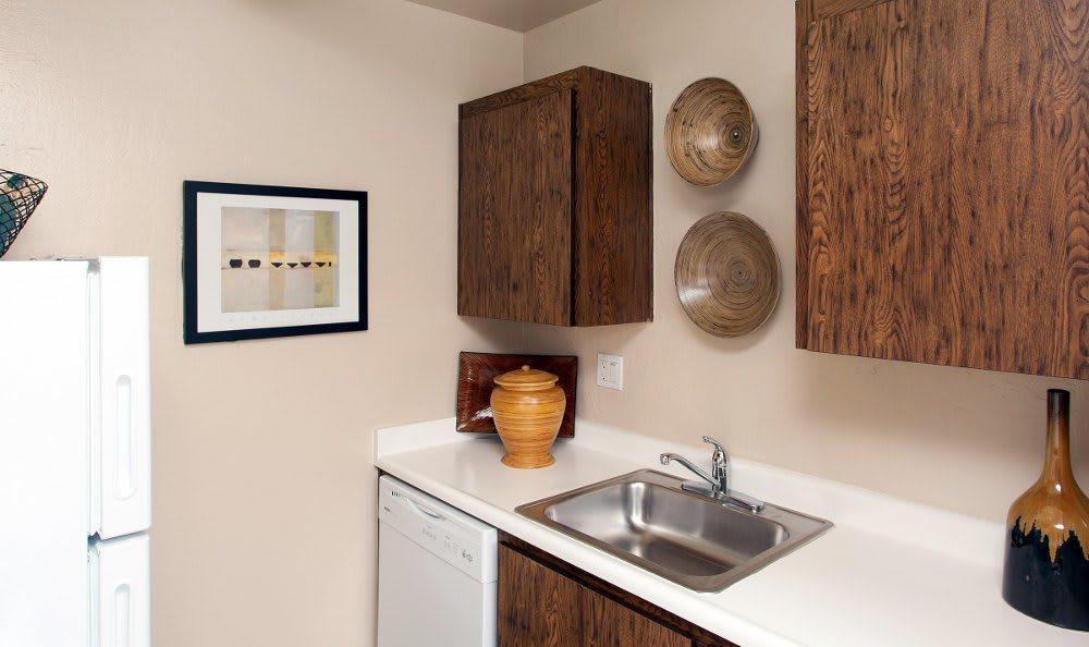 Kitchen sink at Lincoln Glen