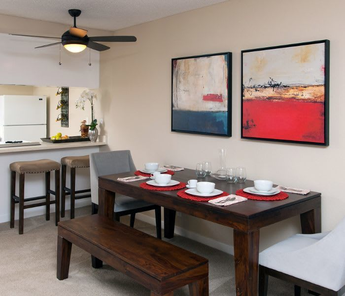 Dining area at Countrywood