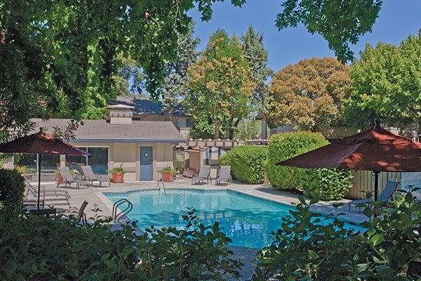 Enjoy in the pool at Del Prado