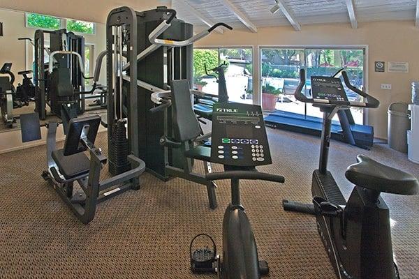 Fitness center at Del Prado