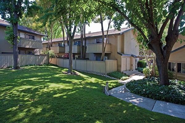 Apartment homes exterior at Del Prado