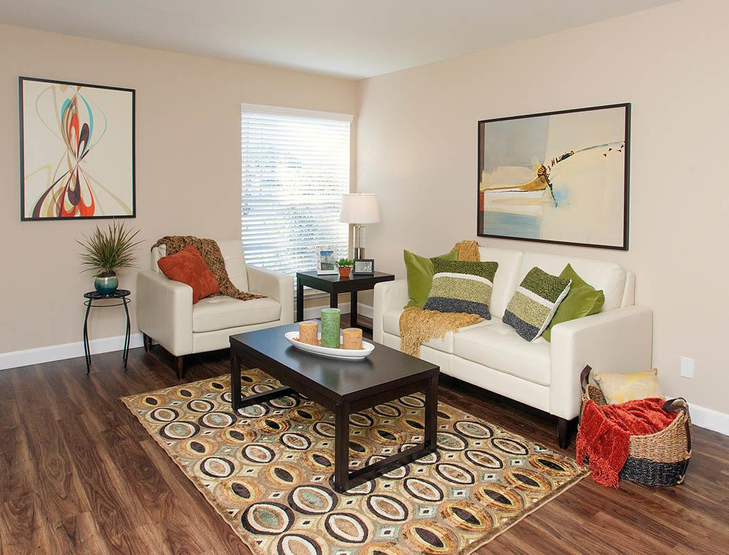 Spacious floor plans at the apartments for rent in Santa Clara
