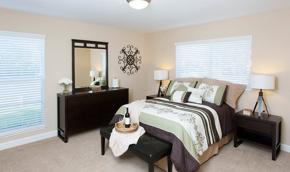 Tamarack Apartments Large Bright Bedroom