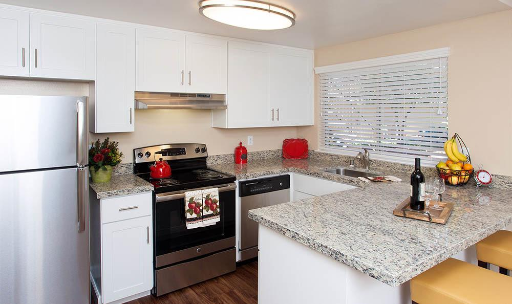 Stainless Steel Oven At Tamarack Apartments