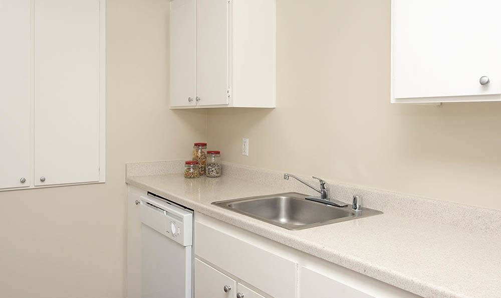 Kitchen Sink At Central Park Apartments