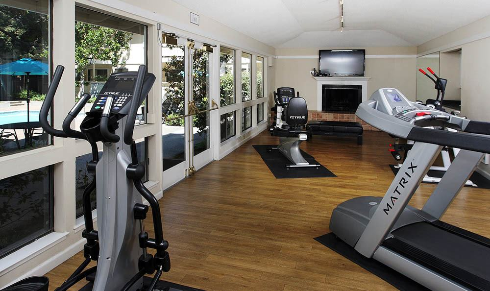 Central Park Apartments Fitness Area