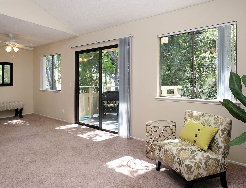 Spacious floor plans at the apartments for rent in Sunnyvale