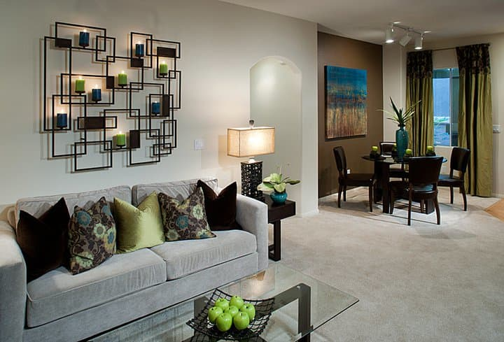 The common areas at Waterford Place Apartments are simply gorgeous!