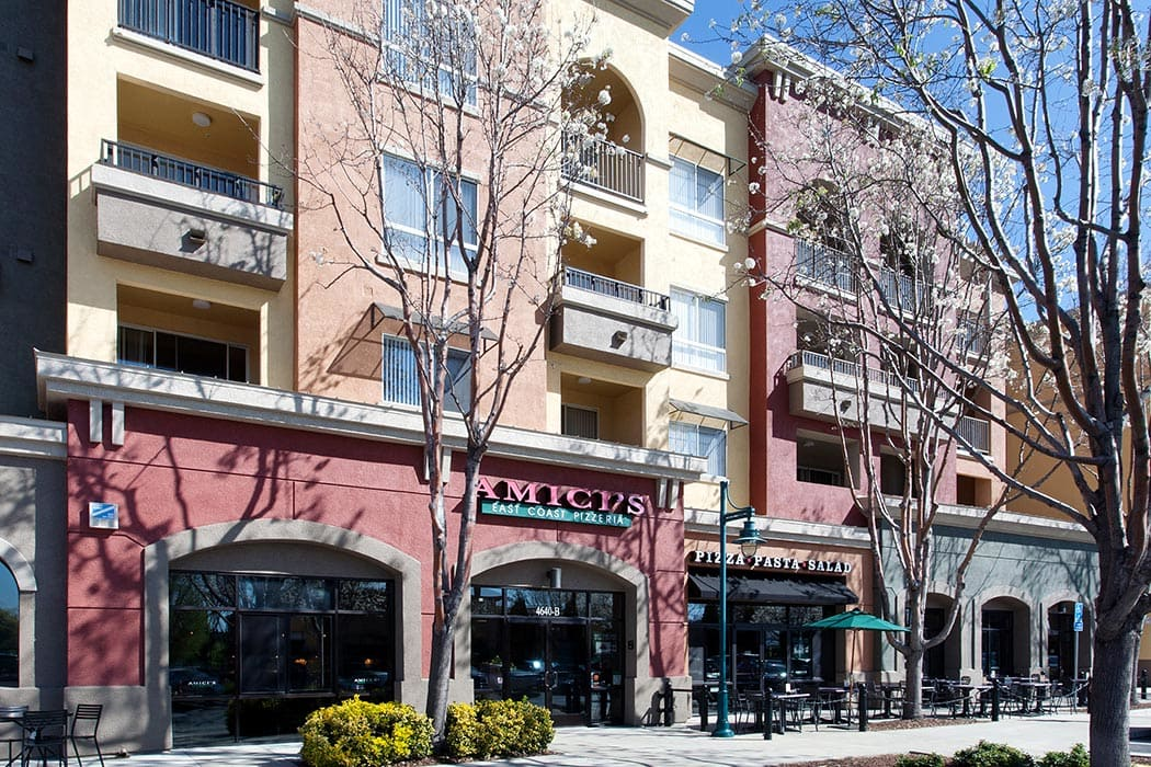 Get some of your shopping done at street level at Waterford Place Apartments
