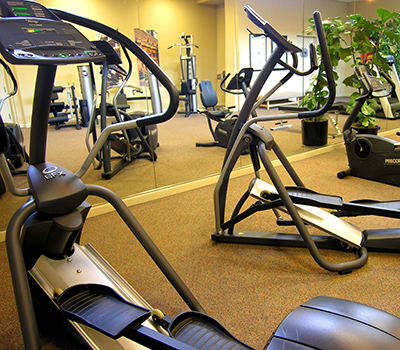 We have a fitness center and more at 1010 Pacific Apartments in Santa Cruz