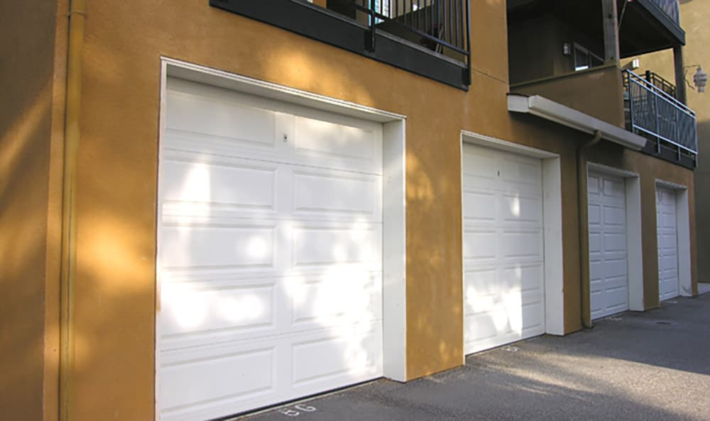 Select apartments at Pacific Shores have private garages