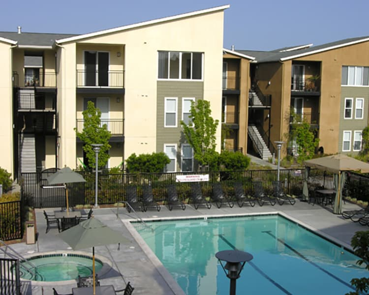 Pacific Shores has beautiful amenities including a sparkling swimming pool