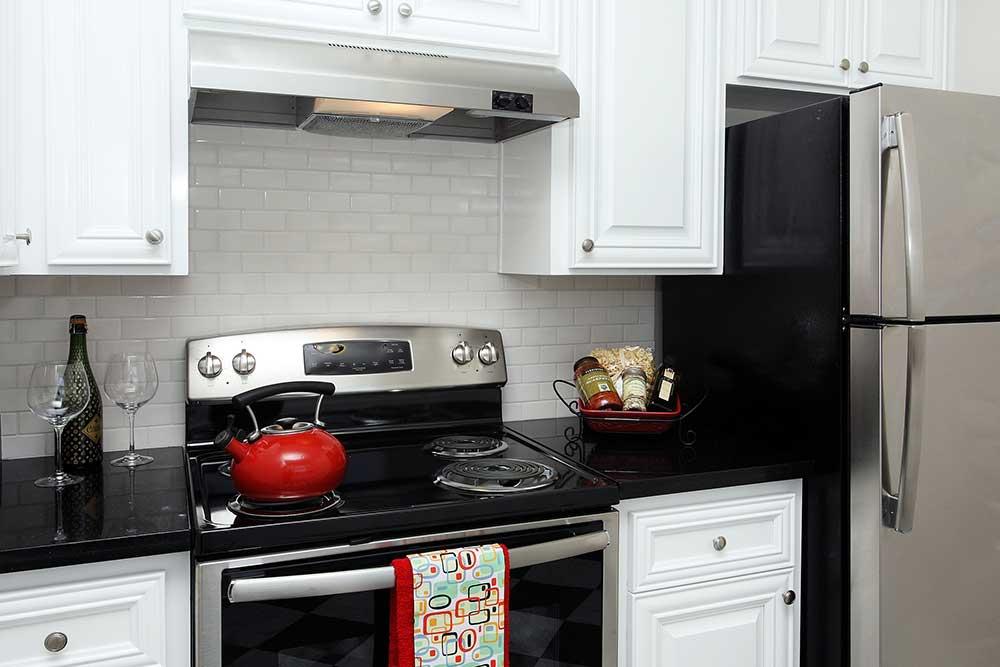 Kitchen at The Arlington