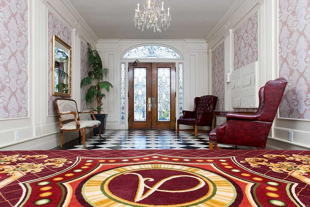 The Arlington entry rug