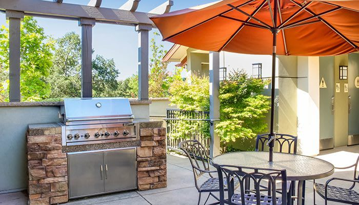 Luxury amenities at the apartments for rent in Santa Rosa