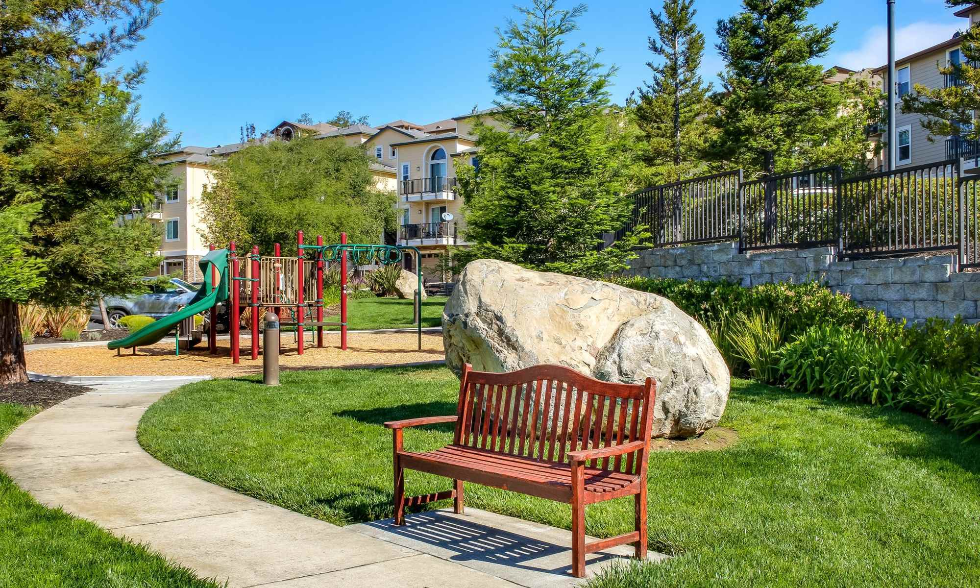 Playground Area at the Santa Rosa Apartments