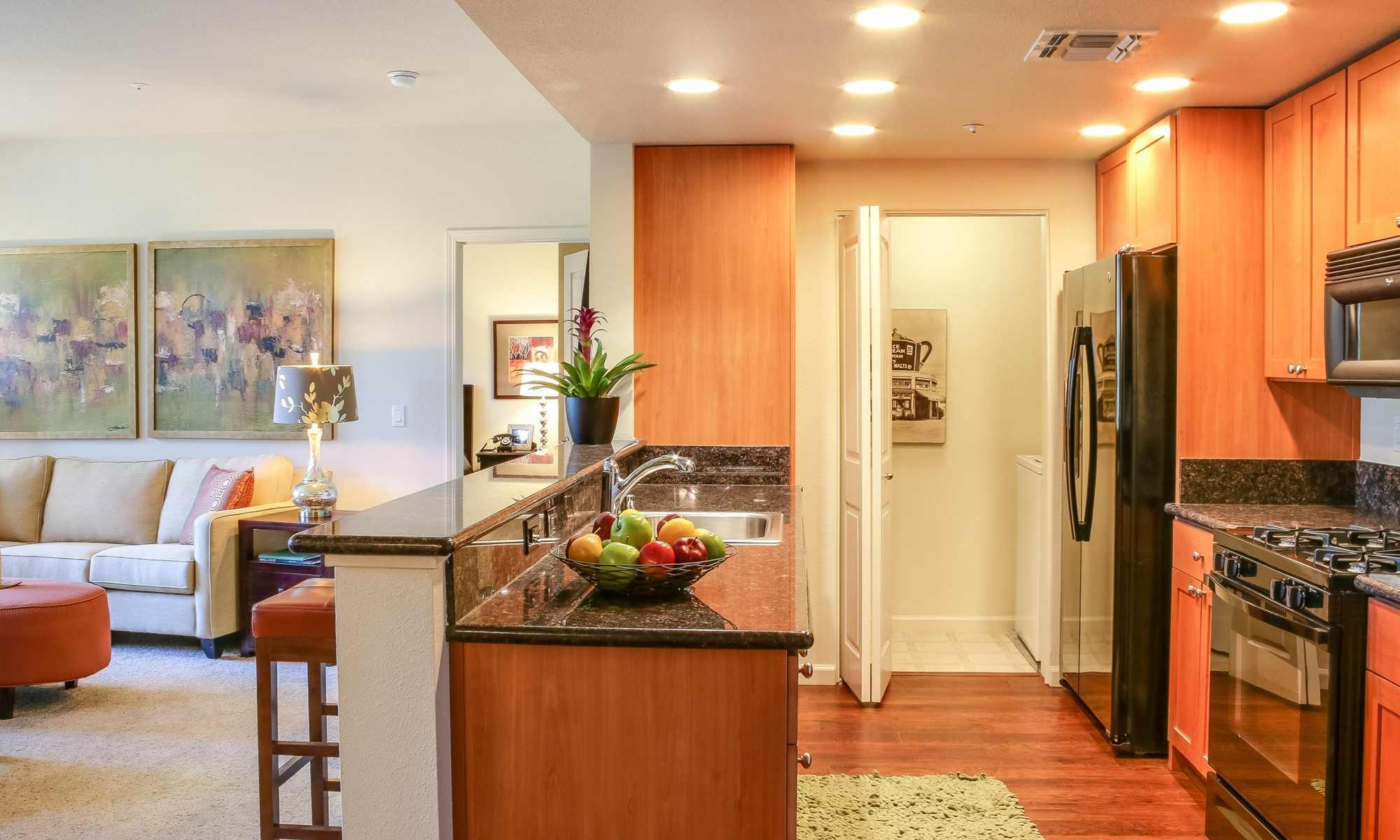 Santa Rosa Apartments have Modern Kitchens