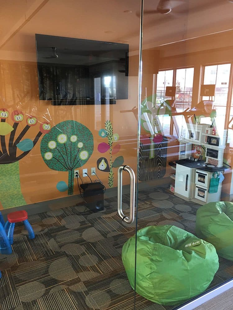 Kids area at Arbours at Crown Point in Ocoee, FL