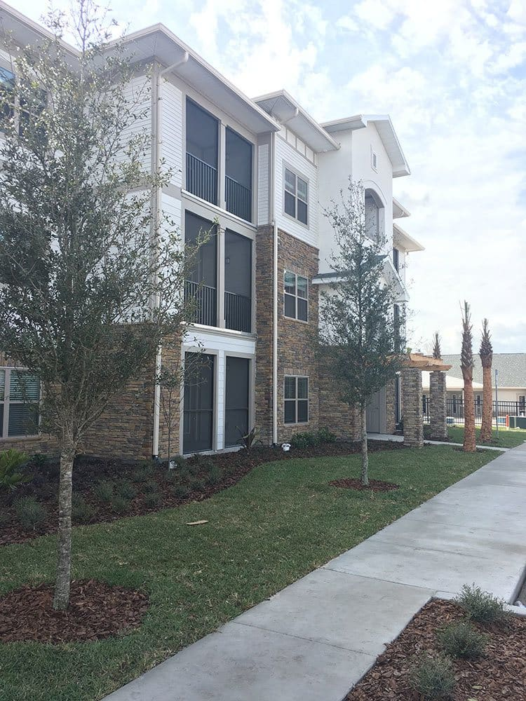 Front view at apartments in Ocoee, Florida