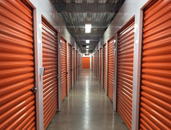 Storage units at CitySpace on Main Self Storage in Louisville, KY