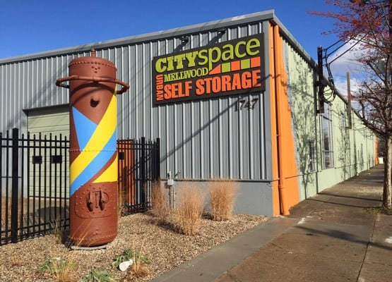 Front Of CitySpace On Mellwood Self Storage Self Storage Exterior In  Louisville, KY